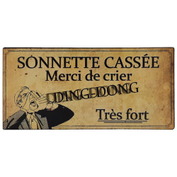 Sonnette cassée