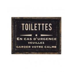 Urgence toilettes
