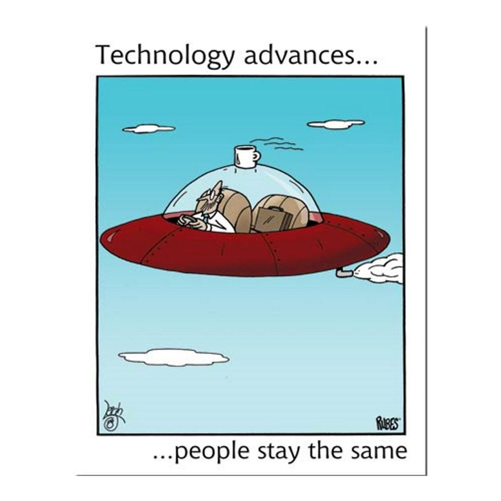 Technology advances