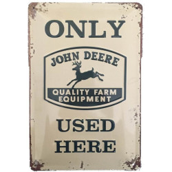 John Deere Only Used Here