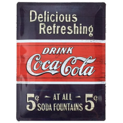 Coca Cola Fountains 5 cts
