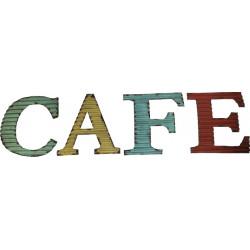 Mot Café - Tôle ondulée