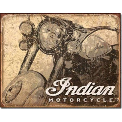 Indian - Antiqued