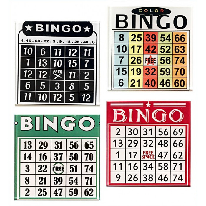 dessous de verre vintage loto bingo. Black Bedroom Furniture Sets. Home Design Ideas