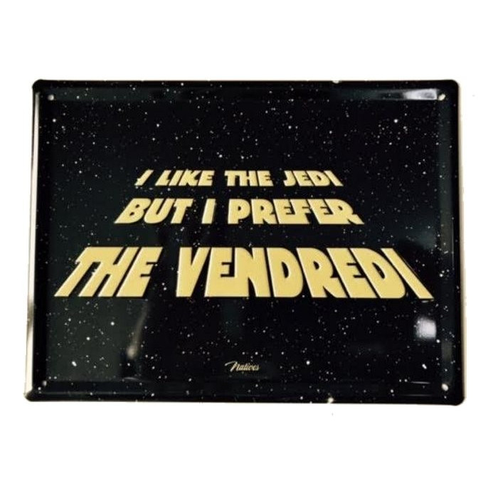 Star Wars I Like The Jedi – But I Prefer The Vendredi