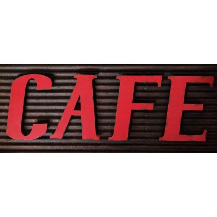 Café – Enseigne Industrielle Vintage