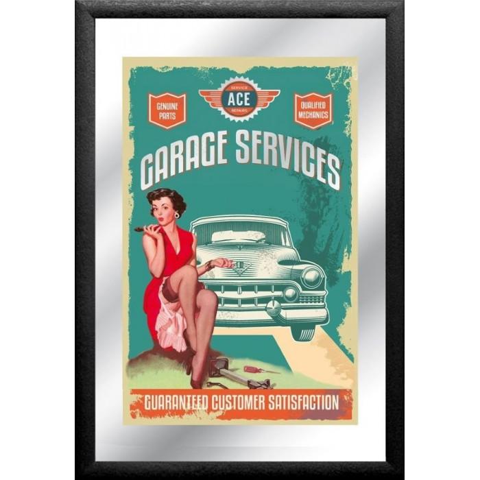 Miroir – Garage Service – American Legend