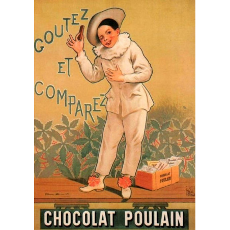 Chocolat Poulain – Pierrot Gourmand