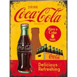 Coca Cola - Delicious Refreshing