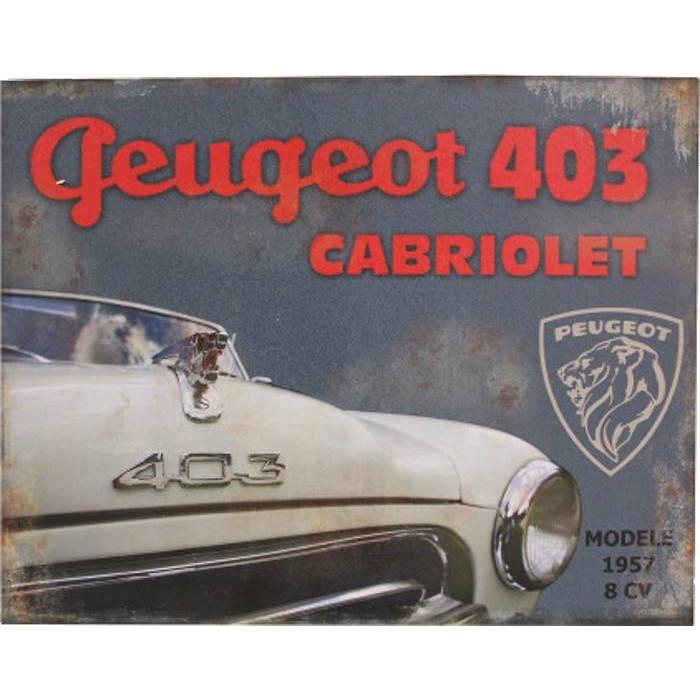 Peugeot 403 – Cabriolet 1957 8 CV