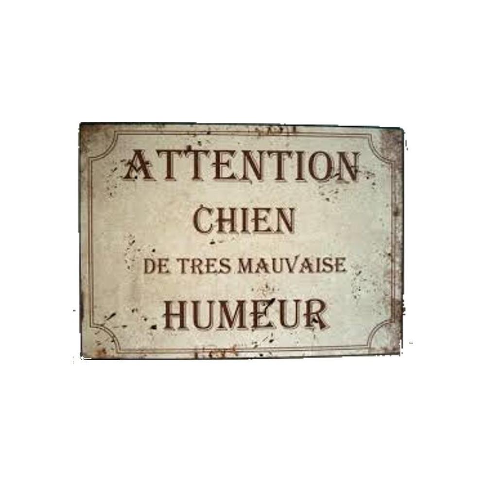 Attention Chien de Très Mauvaise Humeur