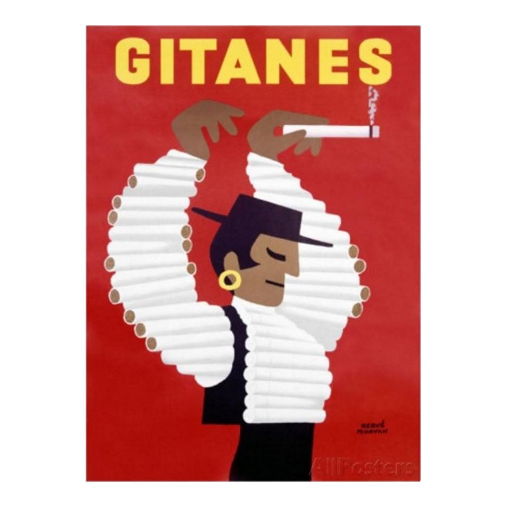 Gitanes - Dessin Morvan