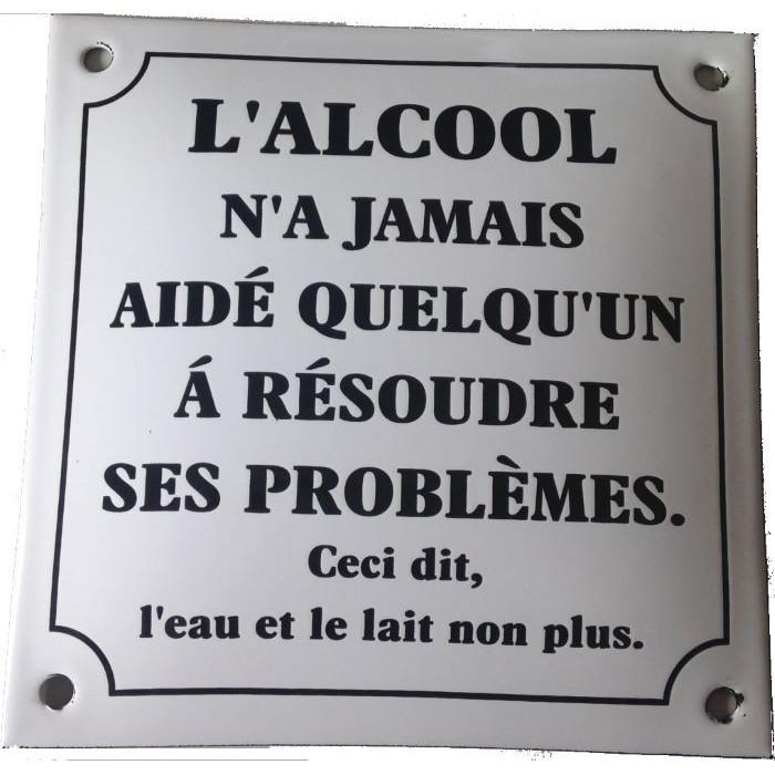 Alcool – Résoudre les Problèmes