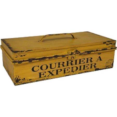 Boite Jaune - Courrier à Expédier