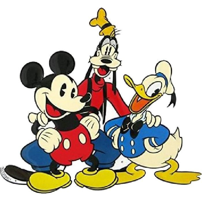 Michey - Pluto - Donald