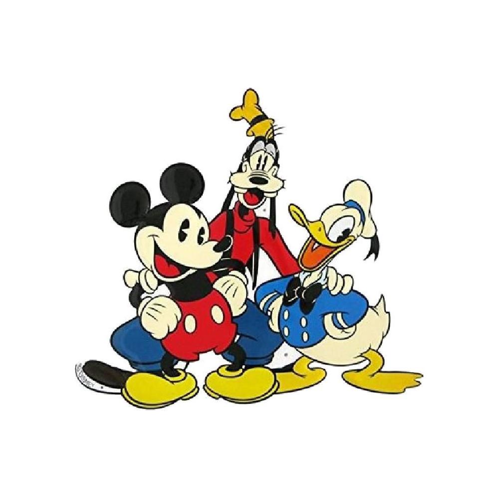 Michey - Pluto - Donald