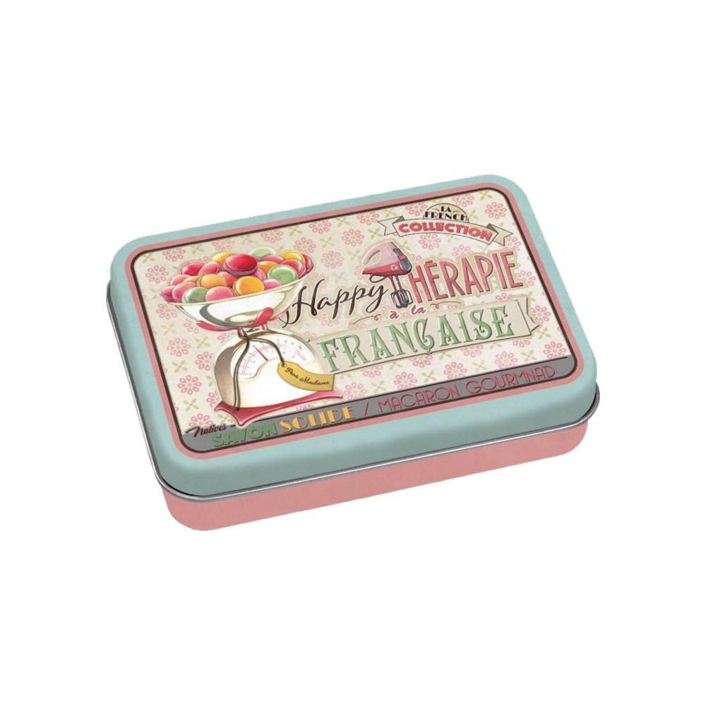 "La Boite et Son Savon ""Happy Thérapie Macaron"""