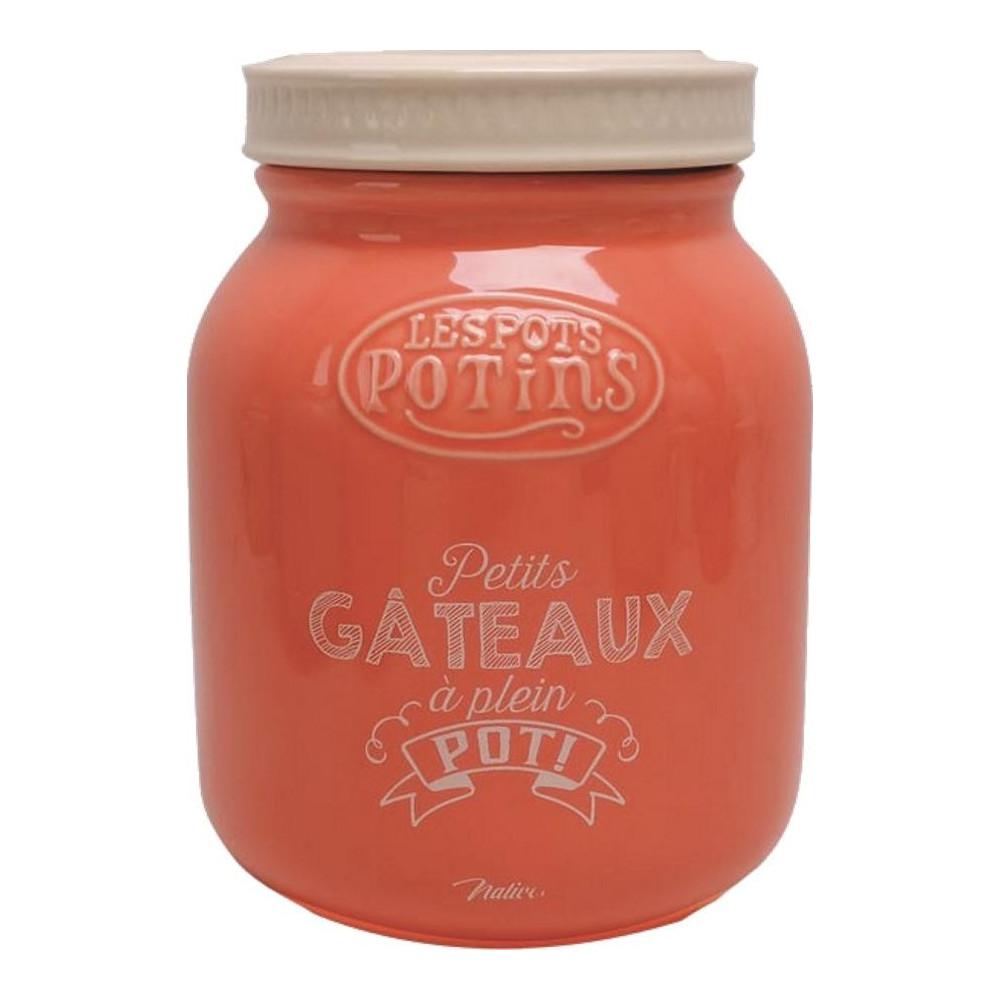 Boite à biscuits - Pots Potin