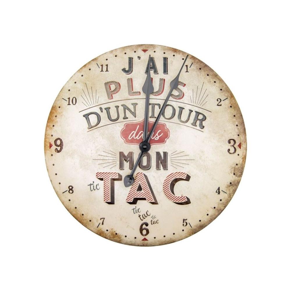 Horloge - Plus d'un tour dans mon tac