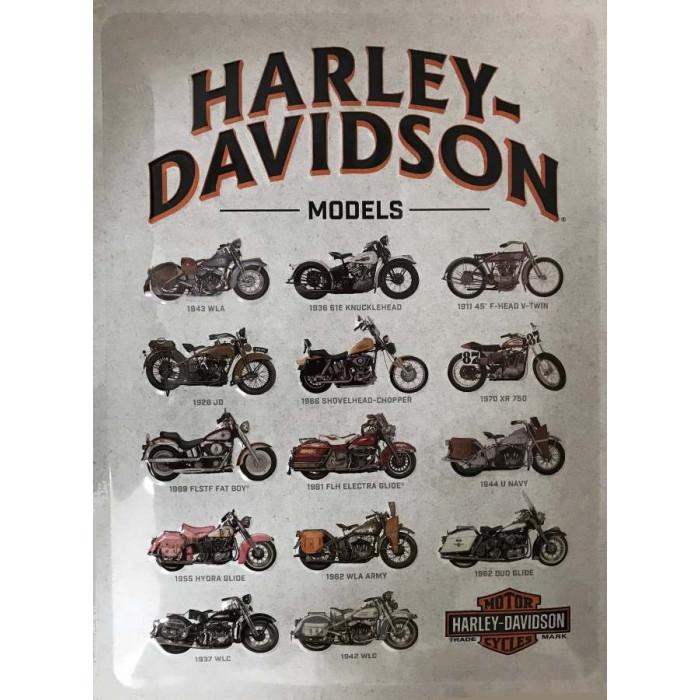 Harley Davidson - Vintage Models